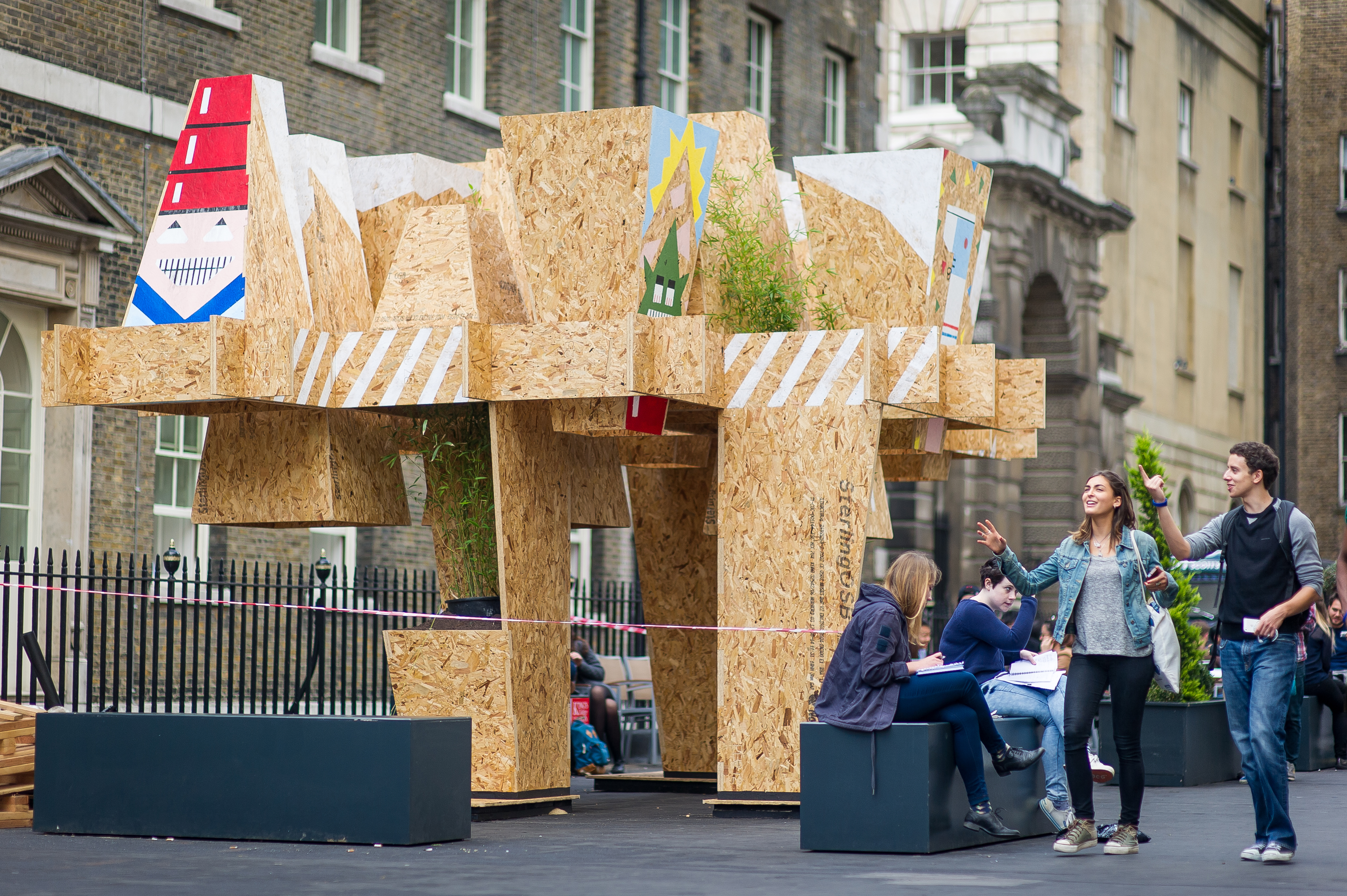 Uppe folly mobile studio architects for Mobile studio