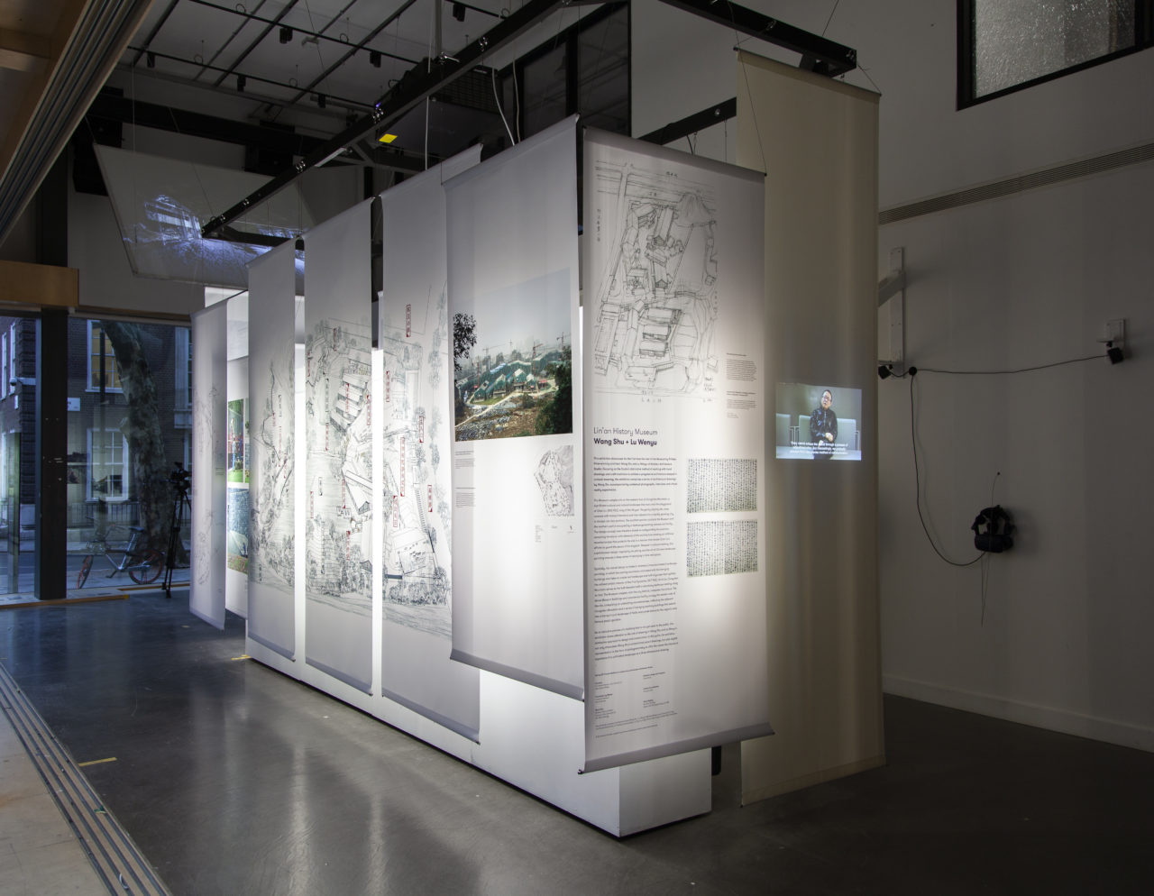 Exhibition Design: Chee-Kit Lai Curators: Dr Edward Denison + Chee-Kit Lai (with Patrick Weber)